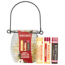 Buy Burt's Bees Burt's Honey Jar Lips Gift Set Online at johnlewis.com