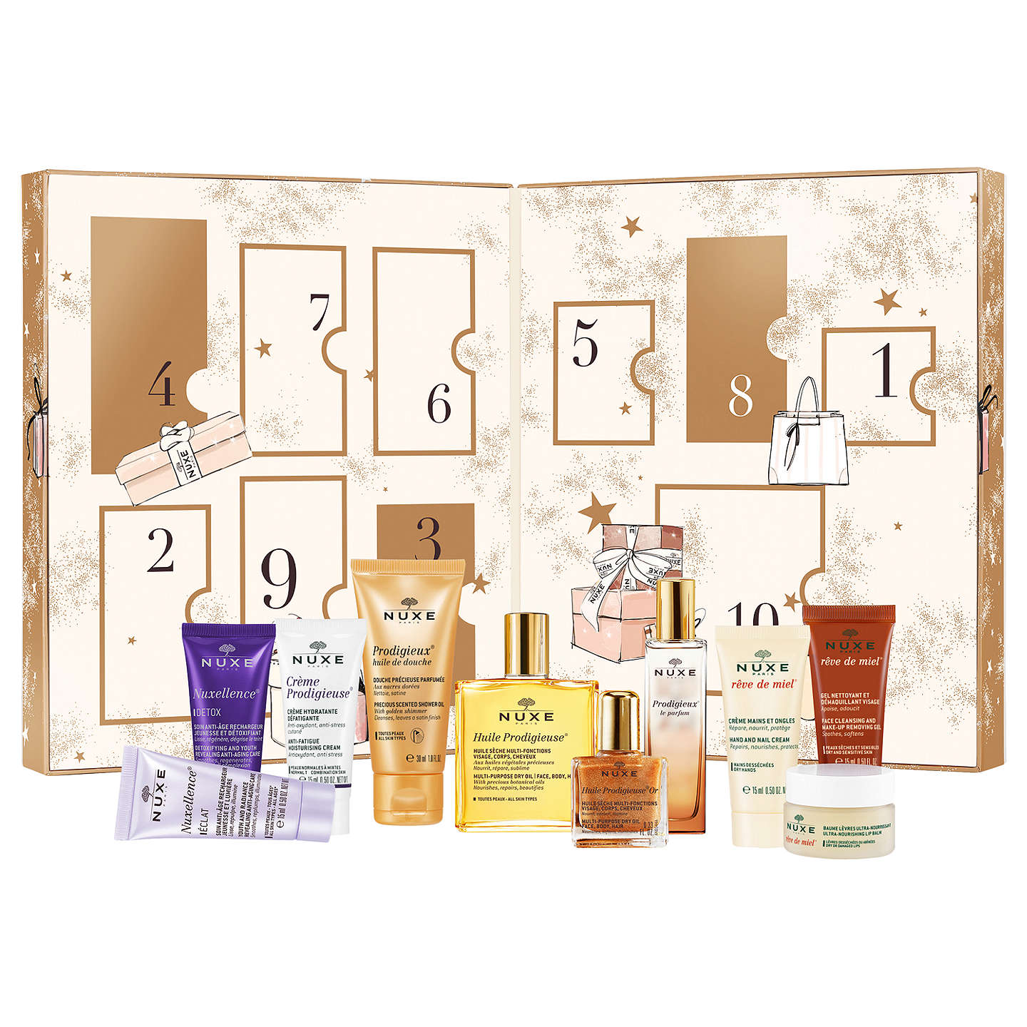 BuyNUXE Beauty Treasures Advent Calendar Online at johnlewis.com