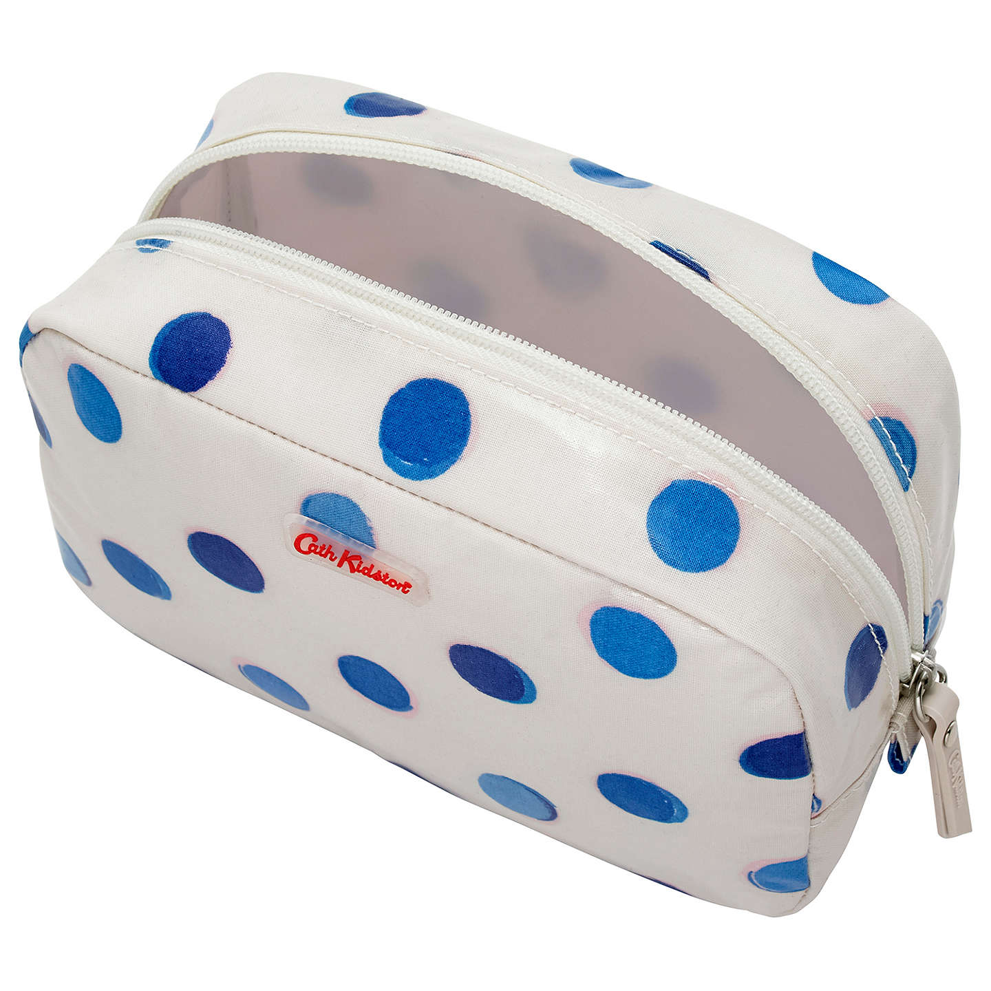 BuyCath Kidston Inky Spot Classic Box Cosmetic Bag Online at johnlewis.com