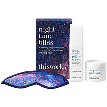 Buy This Works Night Time Bliss Gift Set Online at johnlewis.com