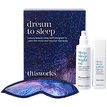 Buy This Works Dream To Sleep Gift Set Online at johnlewis.com