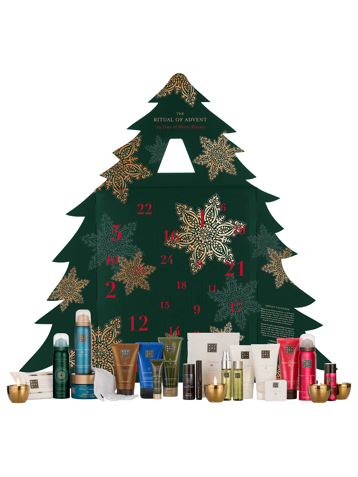 Rituals The Ritual Advent Beauty Calendar at John Lewis & Partners