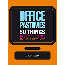 Buy Marcus Weeks Office Pastimes Book Online at johnlewis.com