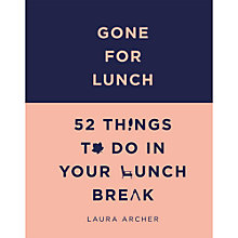 Buy Laura Archer Gone For Lunch Book Online at johnlewis.com