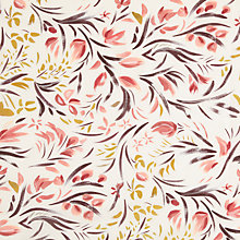 Buy John Lewis Brushstroke Floral Fabric, Multi Online at johnlewis.com
