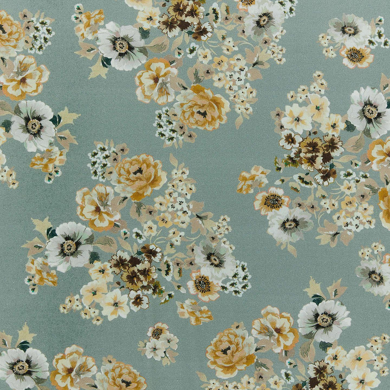 Indigo fabrics flower bouquet fabric blue at john lewis buyindigo fabrics flower bouquet fabric blue online at johnlewis izmirmasajfo