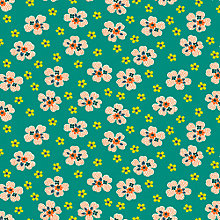 Buy Freespirit Flower Girl Print Fabric Online at johnlewis.com