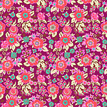 Buy Freespirit Grand Bouquet Print Fabric Online at johnlewis.com