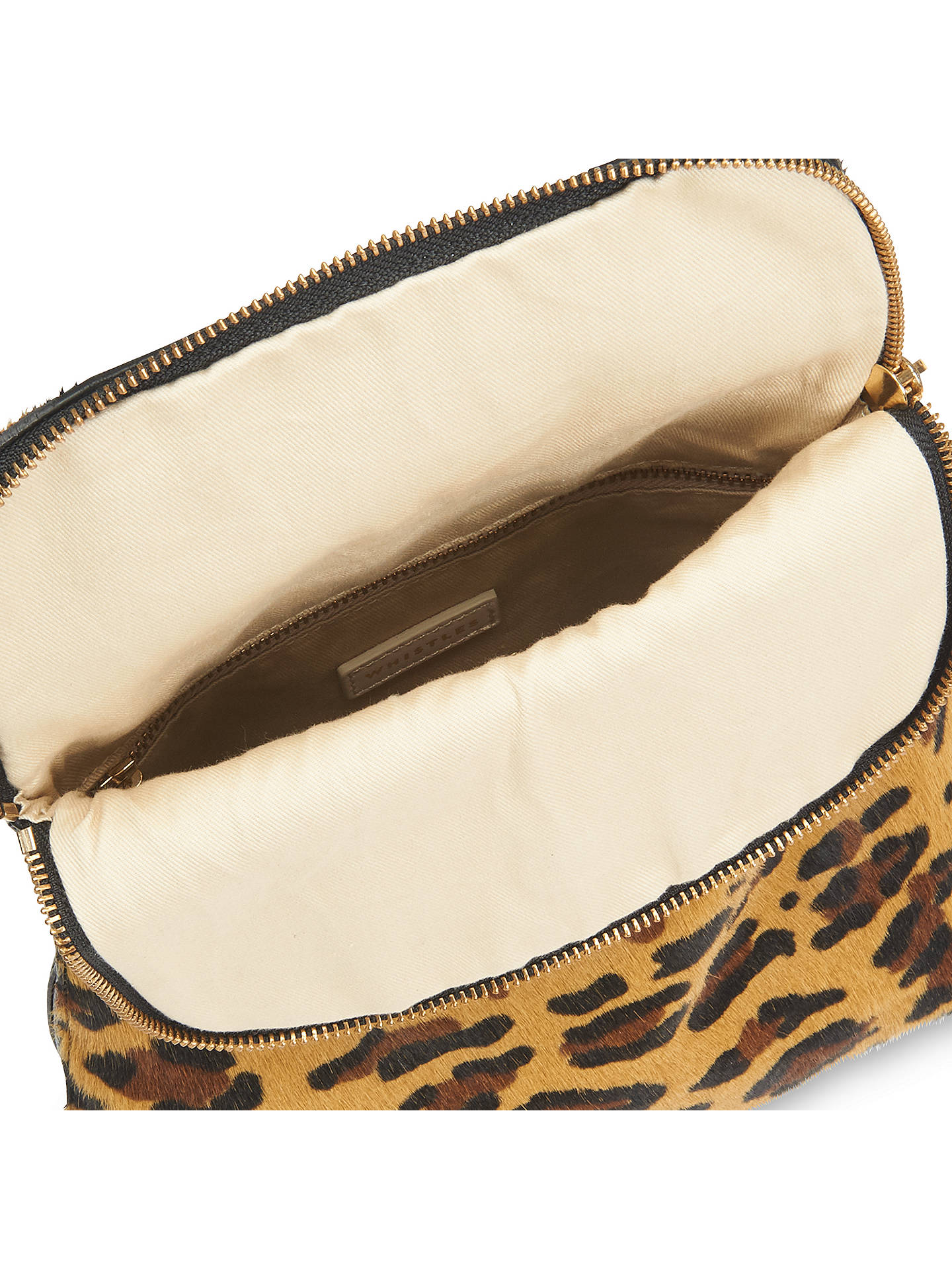6c3a5786936b ... Buy Whistles Mini Verity Backpack, Leopard Print Online at  johnlewis.com ...