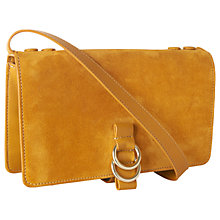 Buy Whistles Zora Leather Le Suede Ring Bag Online at johnlewis.com