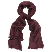 Buy Phase Eight Verity Scarf, Fig Online at johnlewis.com