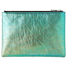 Buy Whistles Mermaid Medium Clutch, Metallic/Multi Online at johnlewis.com