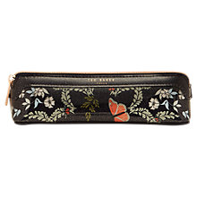 Buy Ted Baker Kyoto Gardens Pencil Case, Mid Blue Online at johnlewis.com