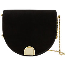 Buy Ted Baker Flossi Mini Suede Moon Bag Online at johnlewis.com