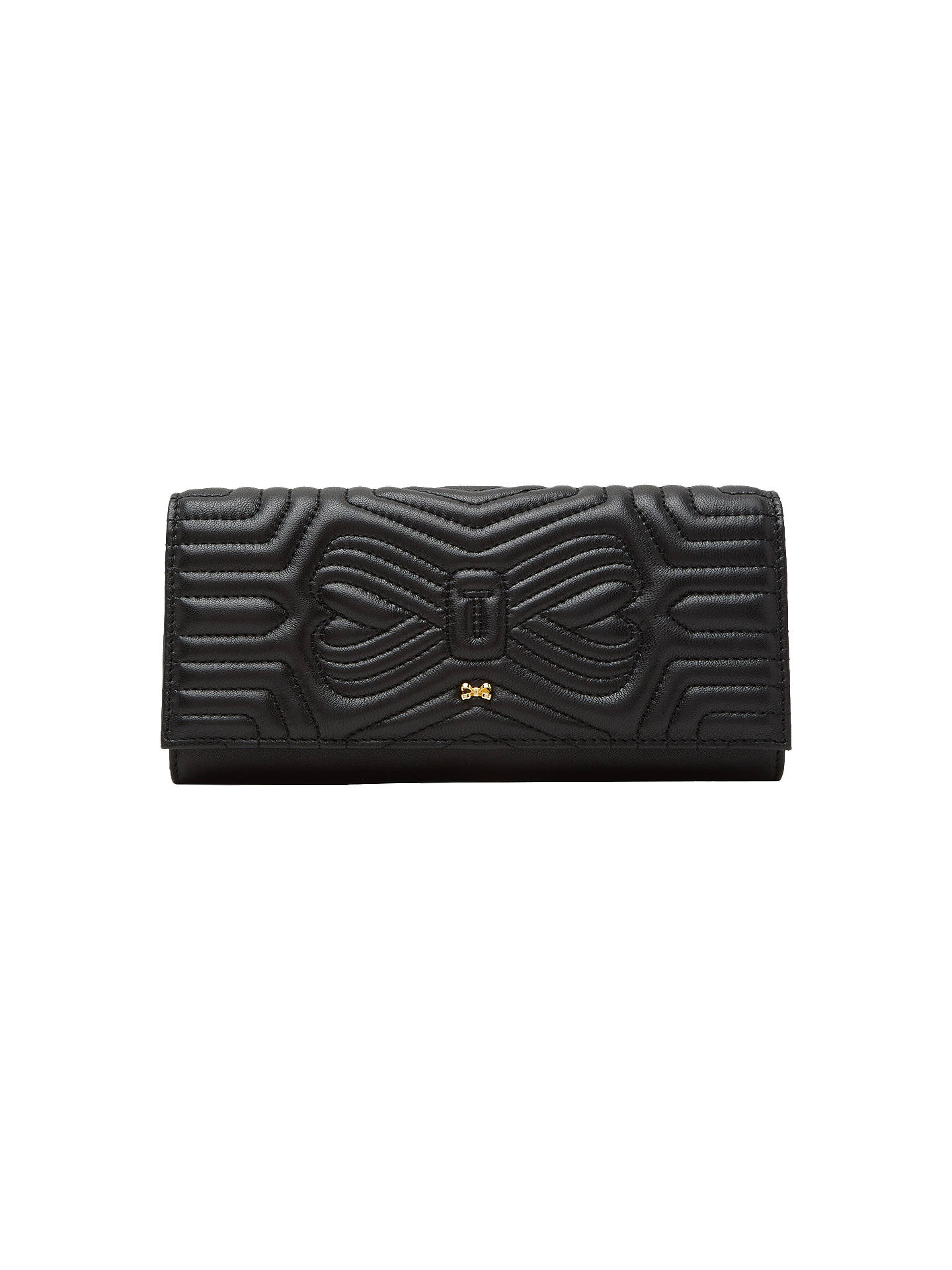 62679b2d1453 Buy Ted Baker Quilted Bow Leather Matinee Purse