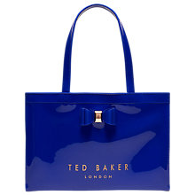 Buy Ted Baker Madicon Bow Large Icon Shopper Bag Online at johnlewis.com