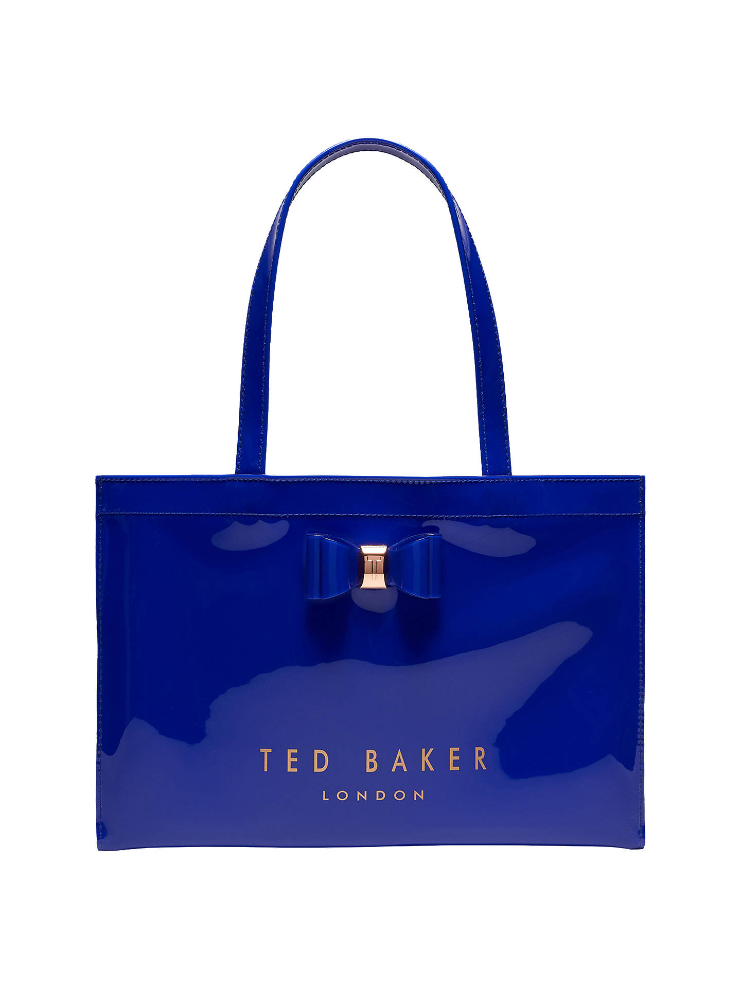 a5df1d208 Ted Baker Madicon Bow Large Icon Shopper Bag at John Lewis   Partners