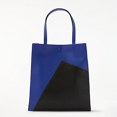 Kin by John Lewis Ella Geo Tote Bag, Blue