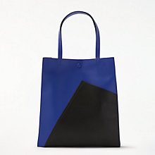Buy Kin by John Lewis Ella Geo Tote Bag, Blue Online at johnlewis.com