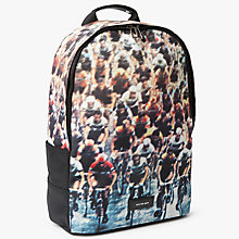 Buy PS by Paul Smith Canvas Cycling Print Backpack, Multi Online at johnlewis.com