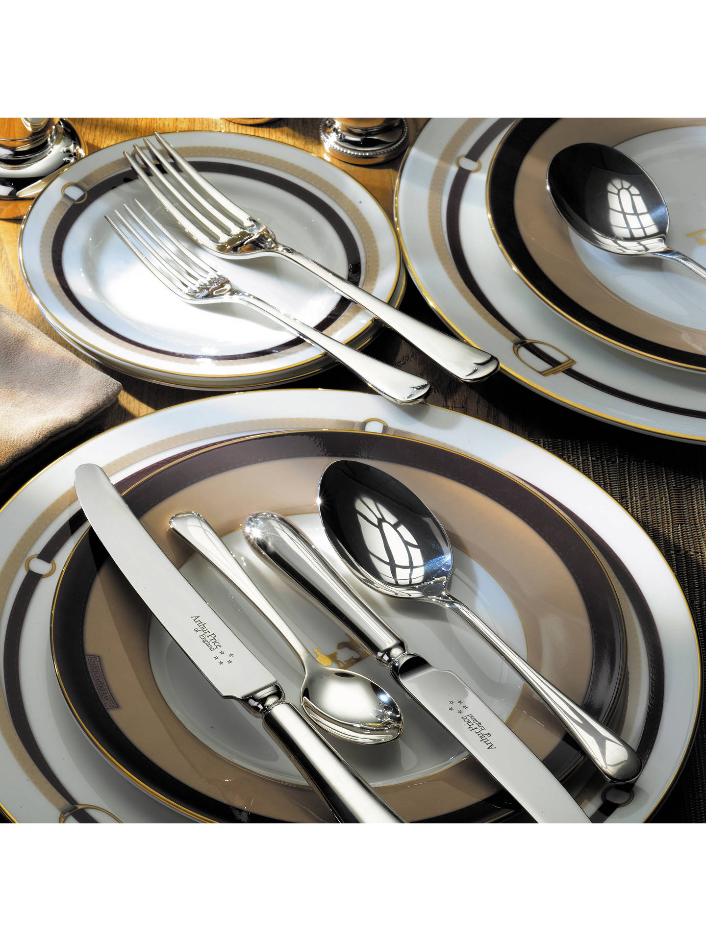 Buy Arthur Price Old English Stainless Steel Cutlery Set, 56 Piece Online at johnlewis.com