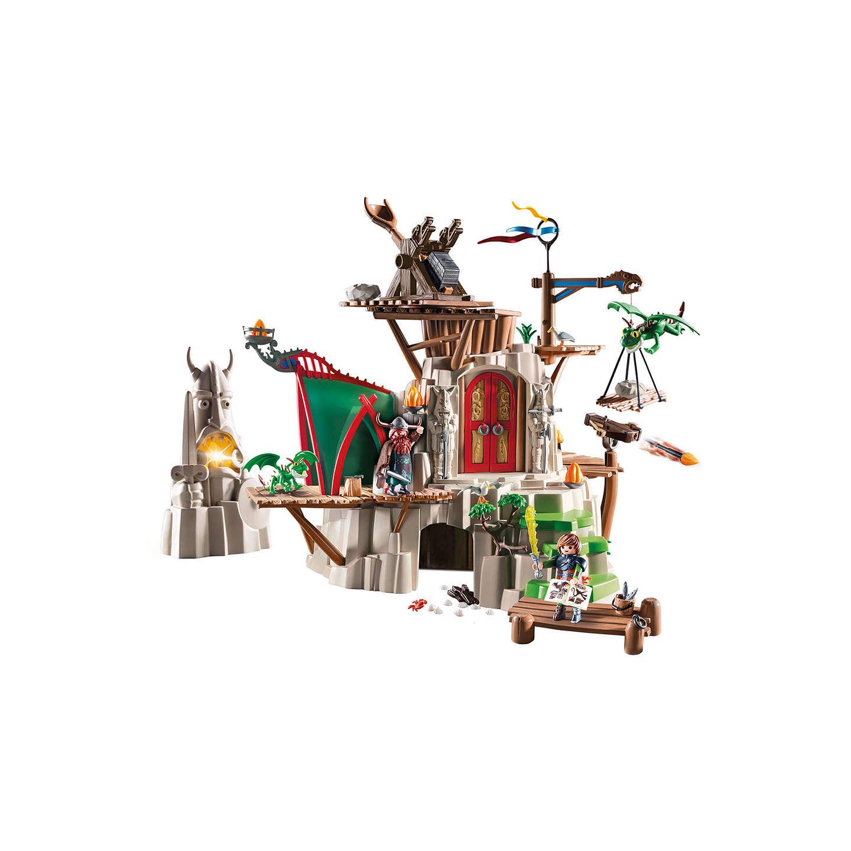 Playmobil Dragons Berk Island Fortress Play Set at John Lewis