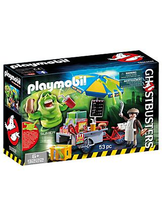 Playmobil Ghostbusters Hot Dog Stand Slimer Play Set