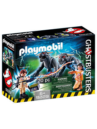 Buy Playmobil Ghostbusters Venkman Terror Dogs Play Set Online at johnlewis.com