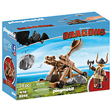 Buy Playmobil Dragons Gobber With Catapult Play Set Online at johnlewis.com