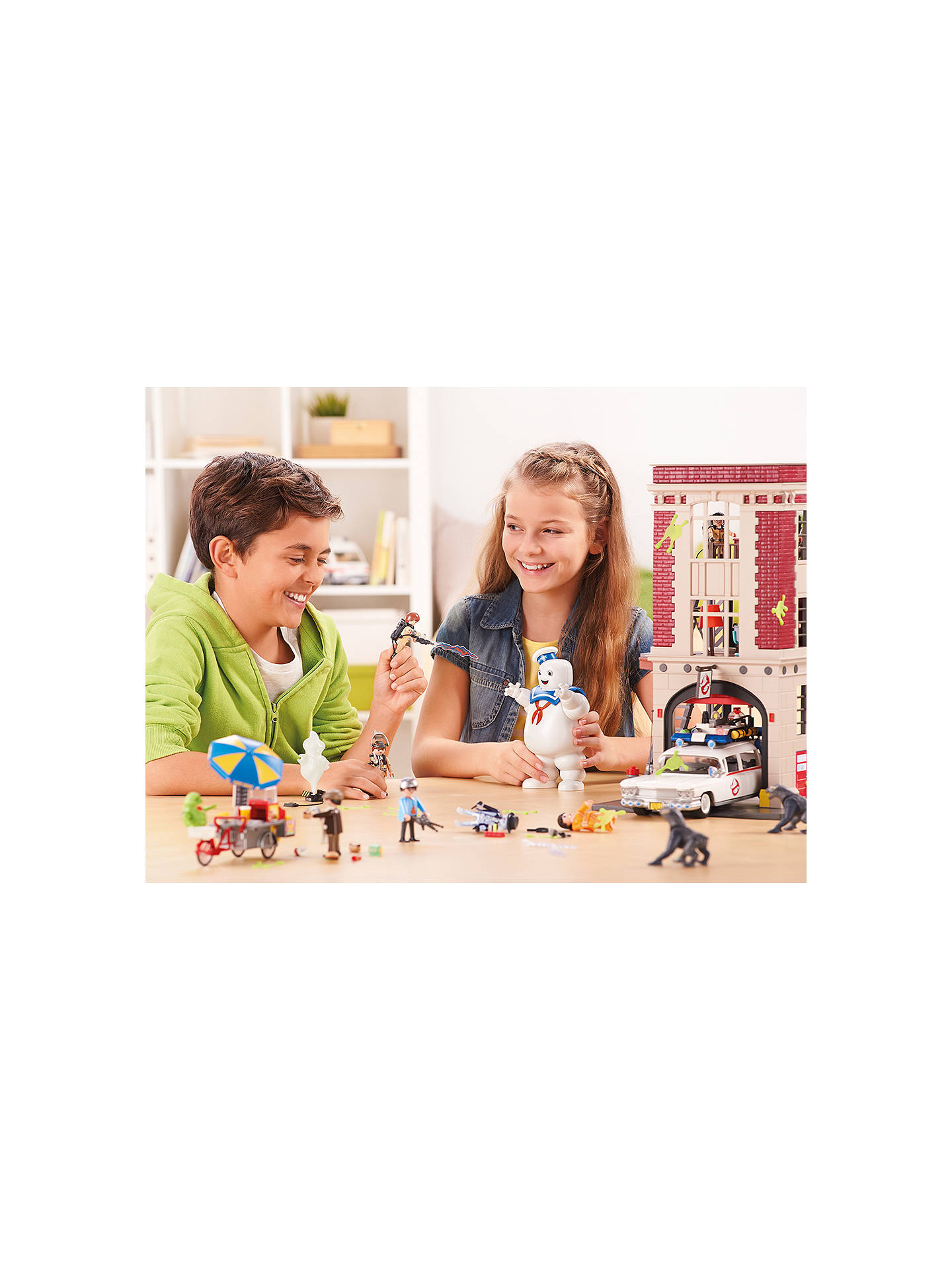 Buy Playmobil Ghostbusters Spengler and Ghost Play Set Online at johnlewis.com
