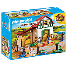Buy Playmobil Country Pony Farm Online at johnlewis.com