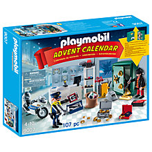 Buy Playmobil Jewel Thief Police Operation Advent Calendar Online at johnlewis.com