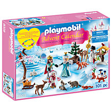 Buy Playmobil Royal Ice Skating Trip Advent Calendar Online at johnlewis.com