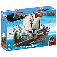 Buy Playmobil Dragons Floating Drago's Ship Play Set Online at johnlewis.com