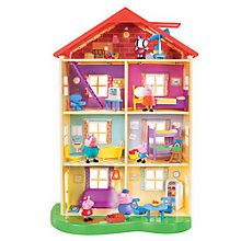 Buy Peppa Pig's Lights & Sounds Family Home Online at johnlewis.com