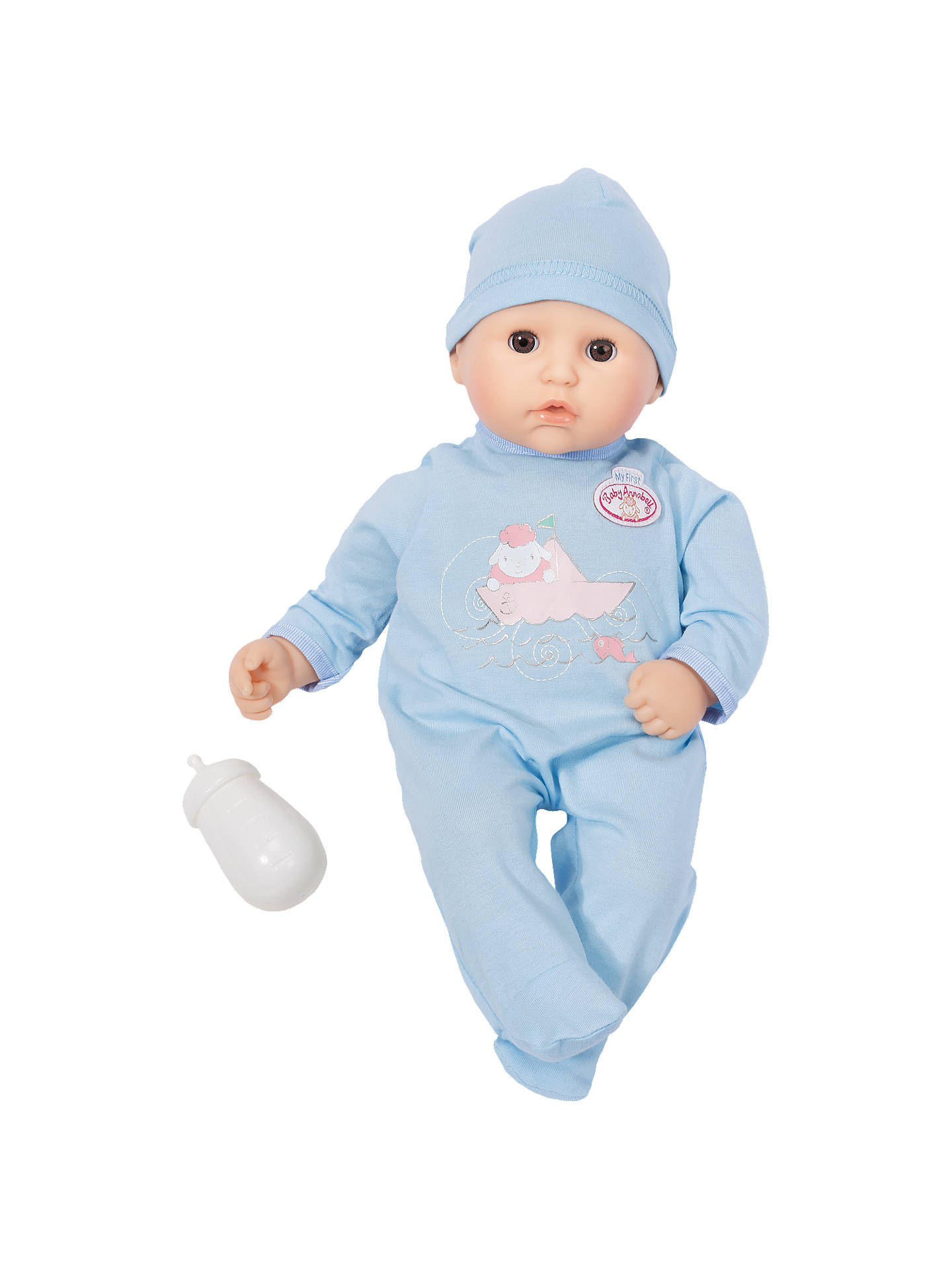 Buy Baby Annabell Sleeping Brother Doll Online at johnlewis.com