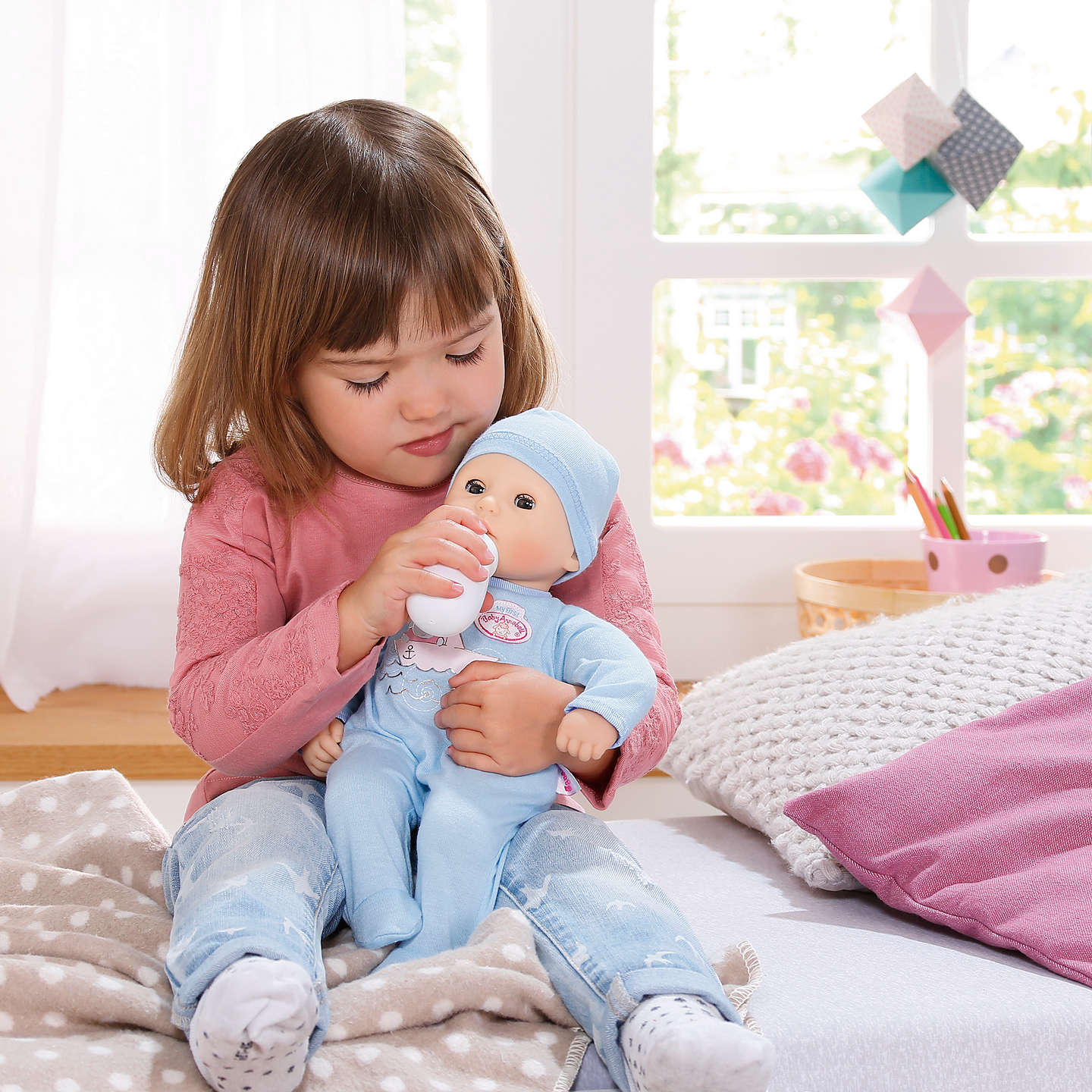 Baby Annabell Sleeping Brother Doll at John Lewis