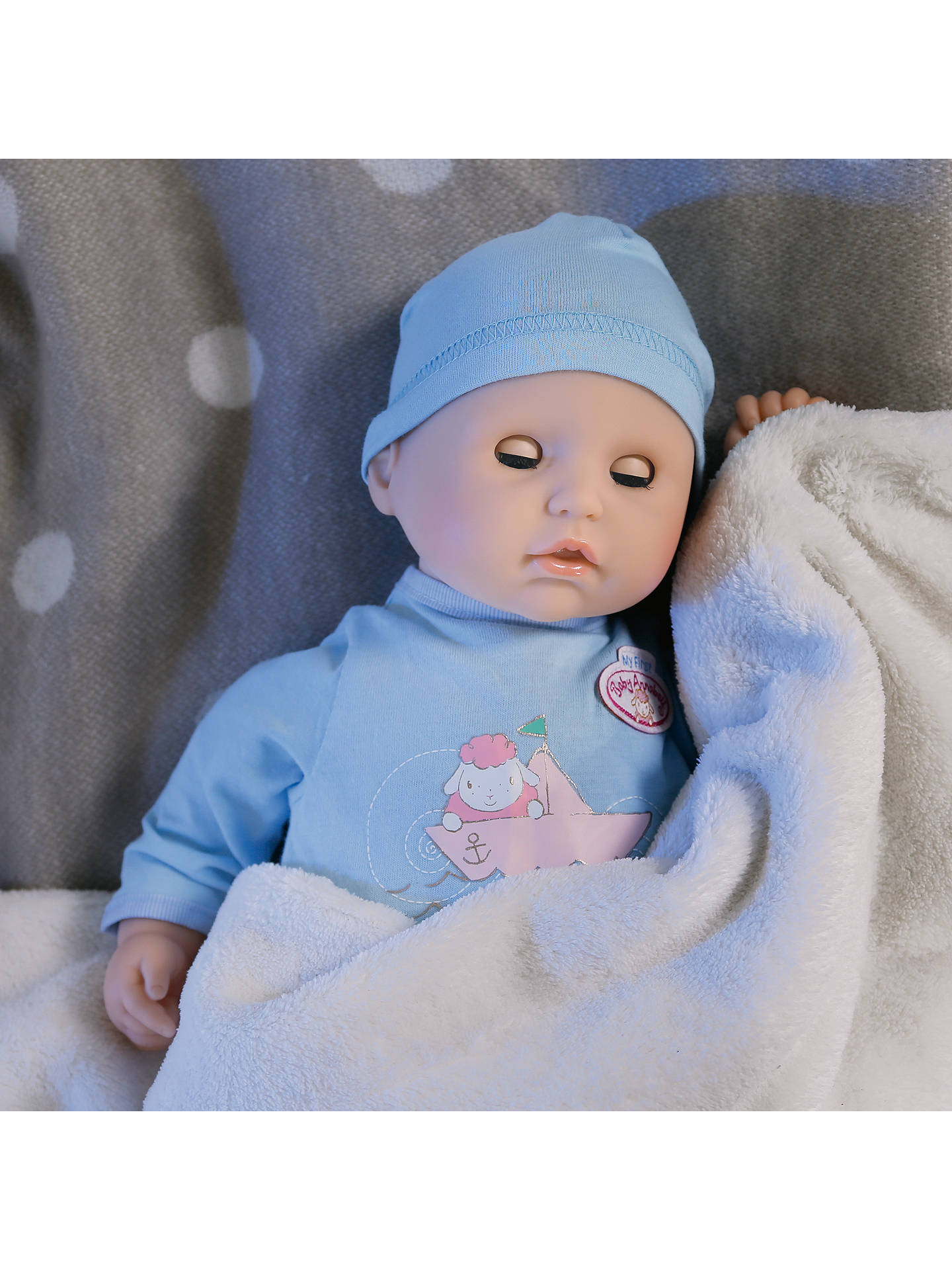 Baby Annabell Sleeping Brother Doll At John Lewis Amp Partners