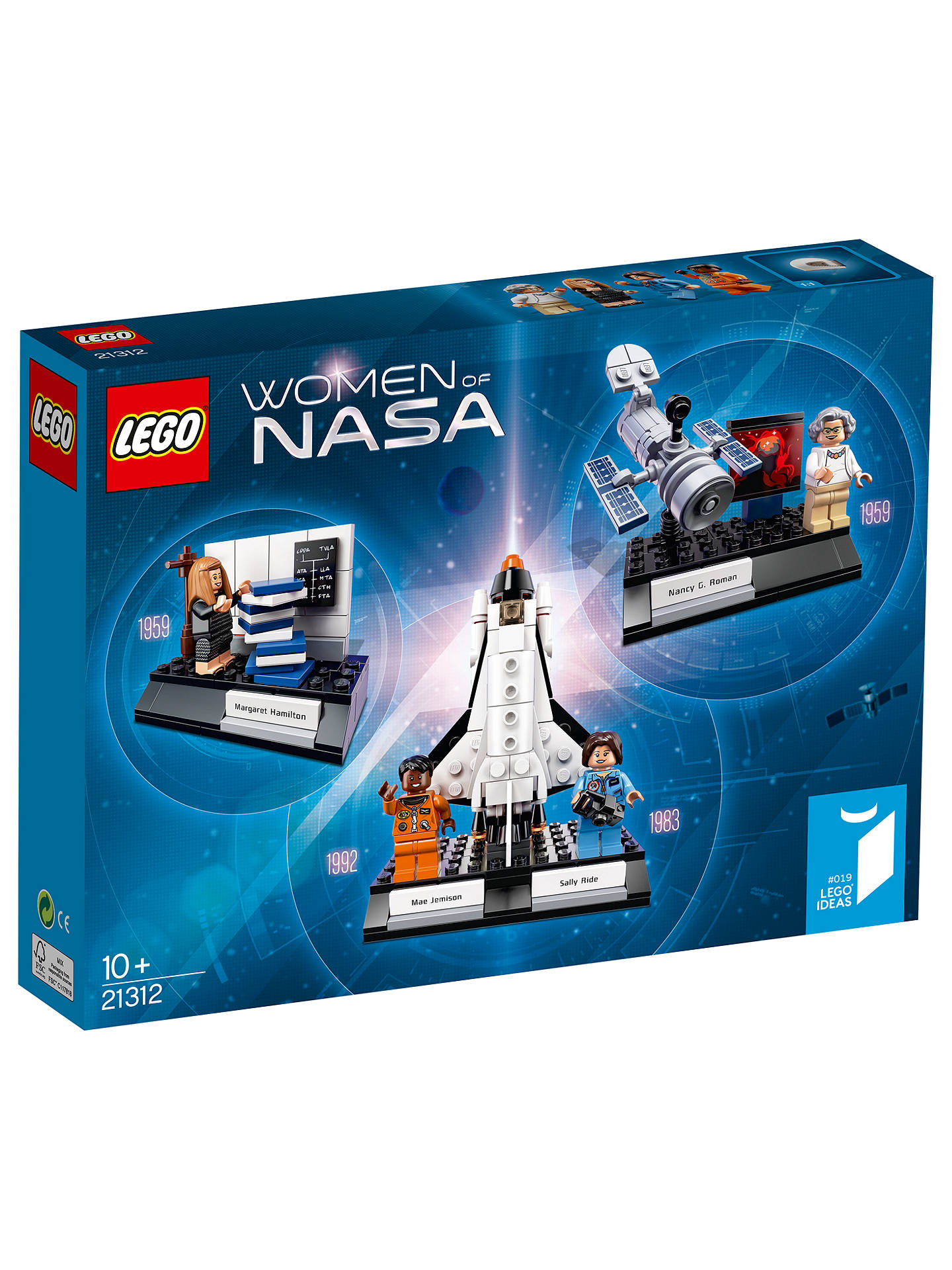 Lego Ideas 21312 Women Of Nasa At John Lewis Amp Partners