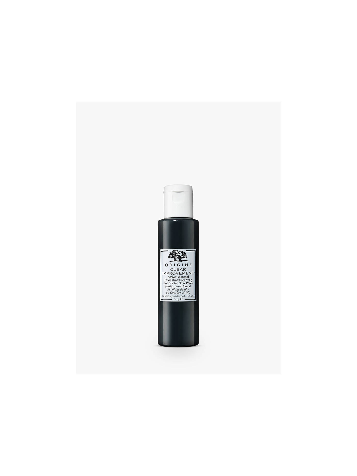 Buy Origins Clear Improvement Active Charcoal Exfoliating Cleansing Powder, 50g Online at johnlewis.com