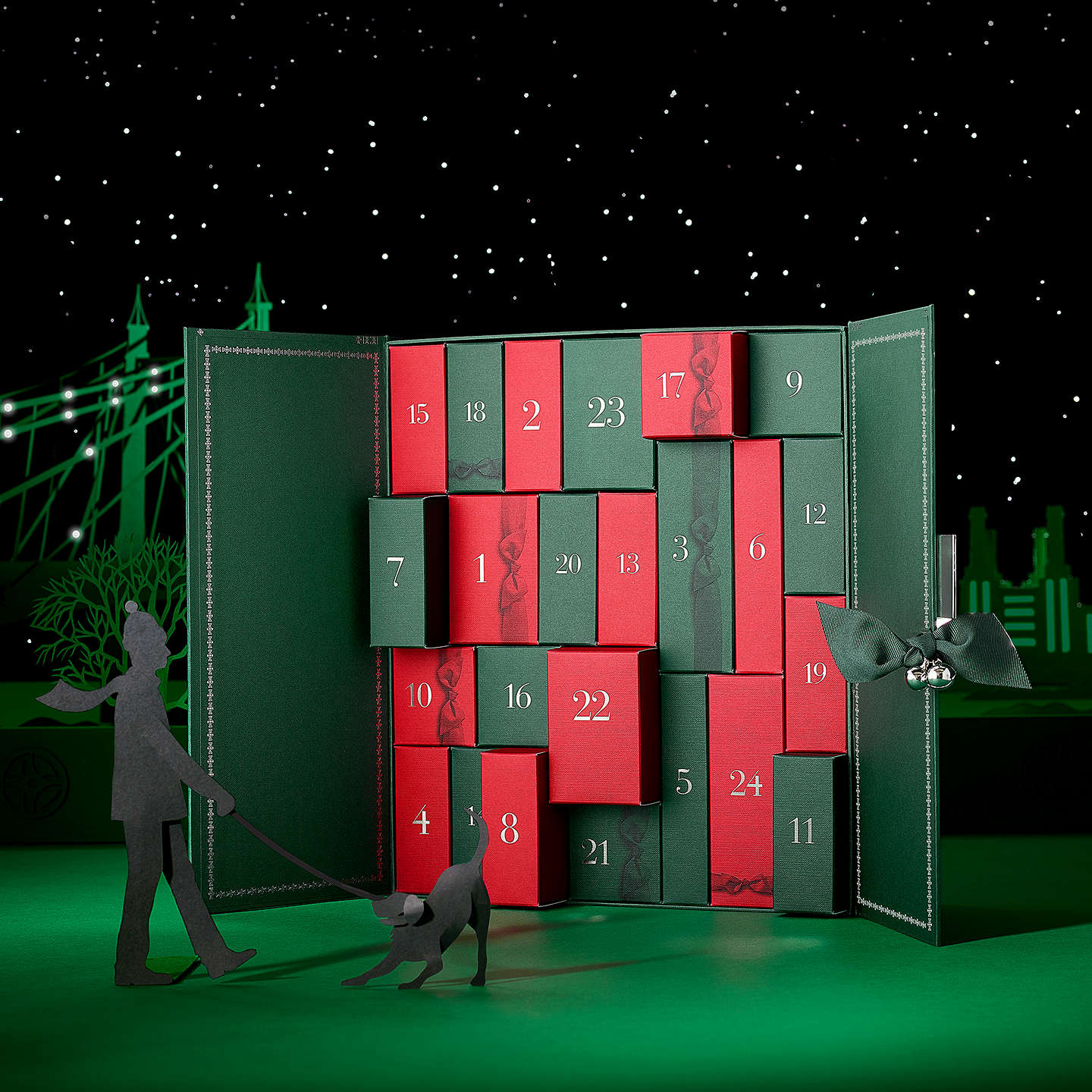 BuyMolton Brown Cabinet of Scented Luxuries Advent Calendar Online at johnlewis.com