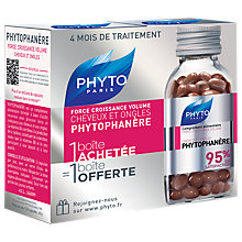 Buy Phyto Phytophanère Dietary Supplement, 2 x 120 capsules Online at johnlewis.com
