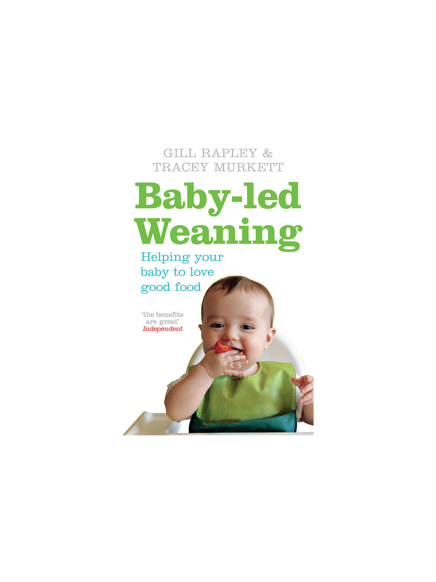 BuyBaker & Taylor Baby-led Weaning Guide Book Online at johnlewis.com