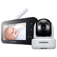 Buy Samsung BrilliantView SEW-3041W Baby Monitor Online at johnlewis.com