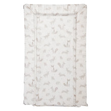 Buy John Lewis Forest Friends Changing Mat Online at johnlewis.com