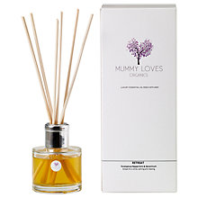 Buy Mummy Loves Organics Retreat Room Scent Online at johnlewis.com
