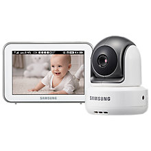 Buy Samsung BrightView HD Touchscreen SEW-3043W Baby Monitor Online at johnlewis.com