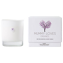 Buy Mummy Loves Melting Essential Oil Sleep Body Candle Online at johnlewis.com
