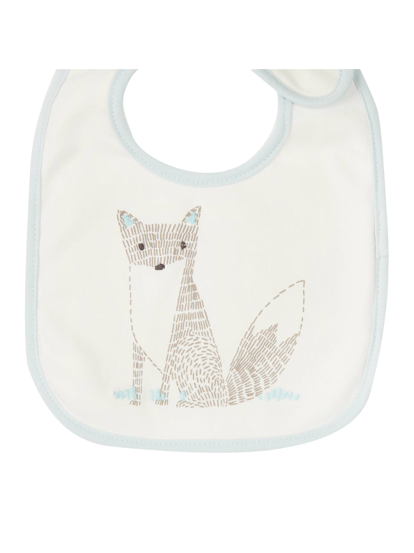Buy John Lewis & Partners Baby Forest Friends Bib, Pack of 5 Online at johnlewis.com