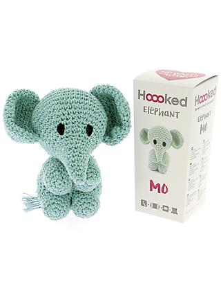 Hoooked Crochet Your Own Elephant Kit, Spring